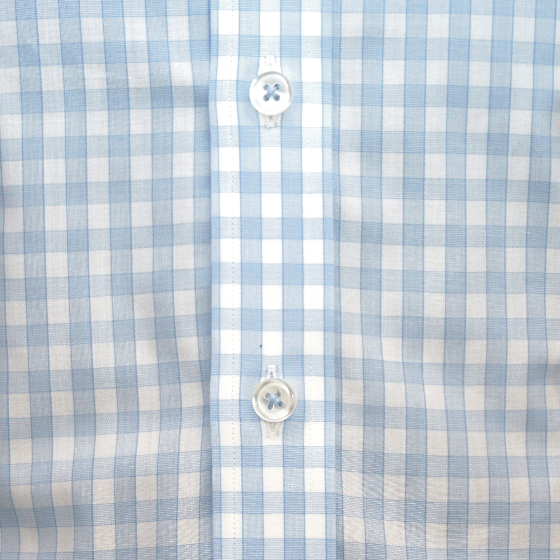 Penny collar shirt Sky Blue Diamond Banker style for Men Round Club collar Gents